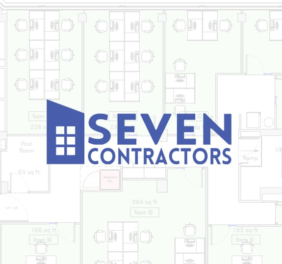 Seven Contractors Logo - commercial fit out, office fit out in London